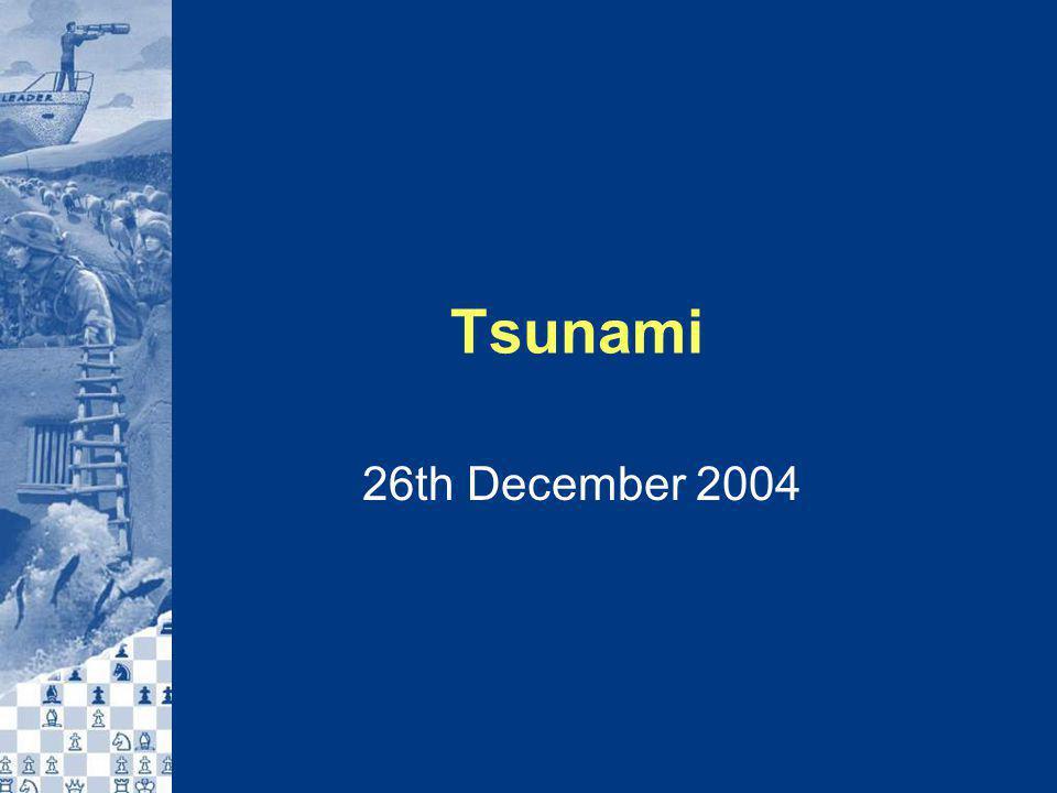 Tsunami 26th December 2004
