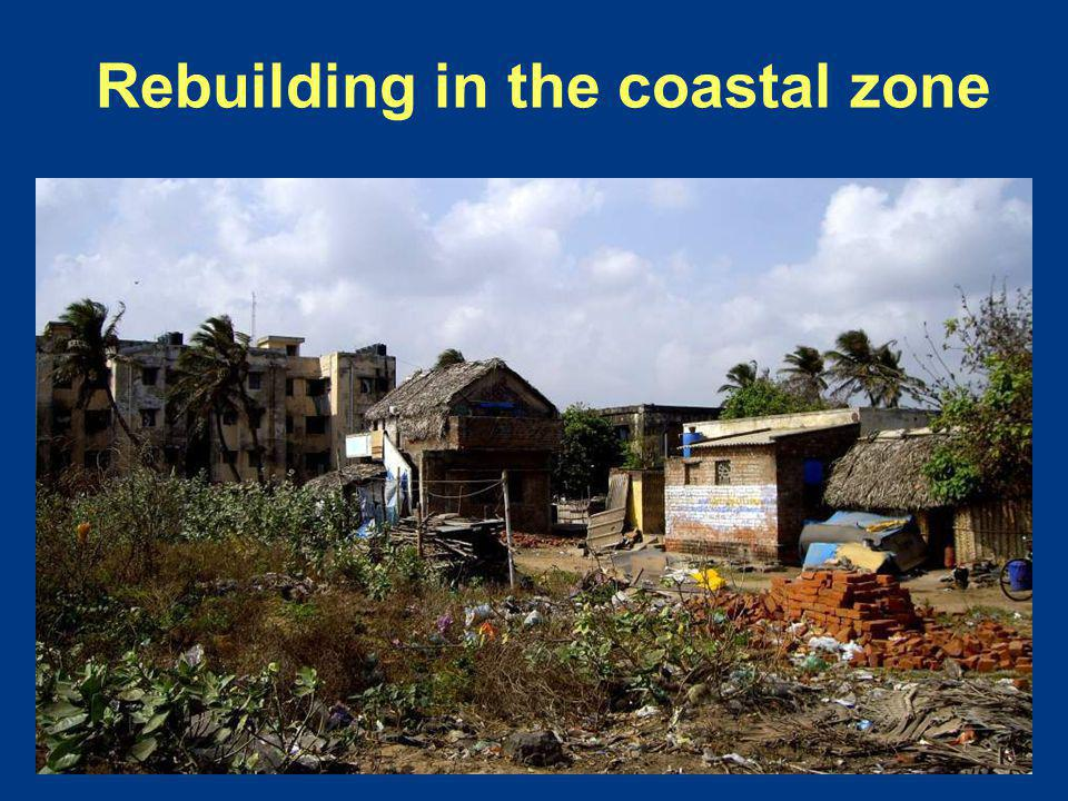 Rebuilding in the coastal zone