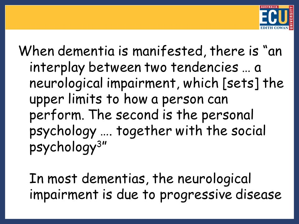 Summary 1.How likely is pain in people who have dementia.