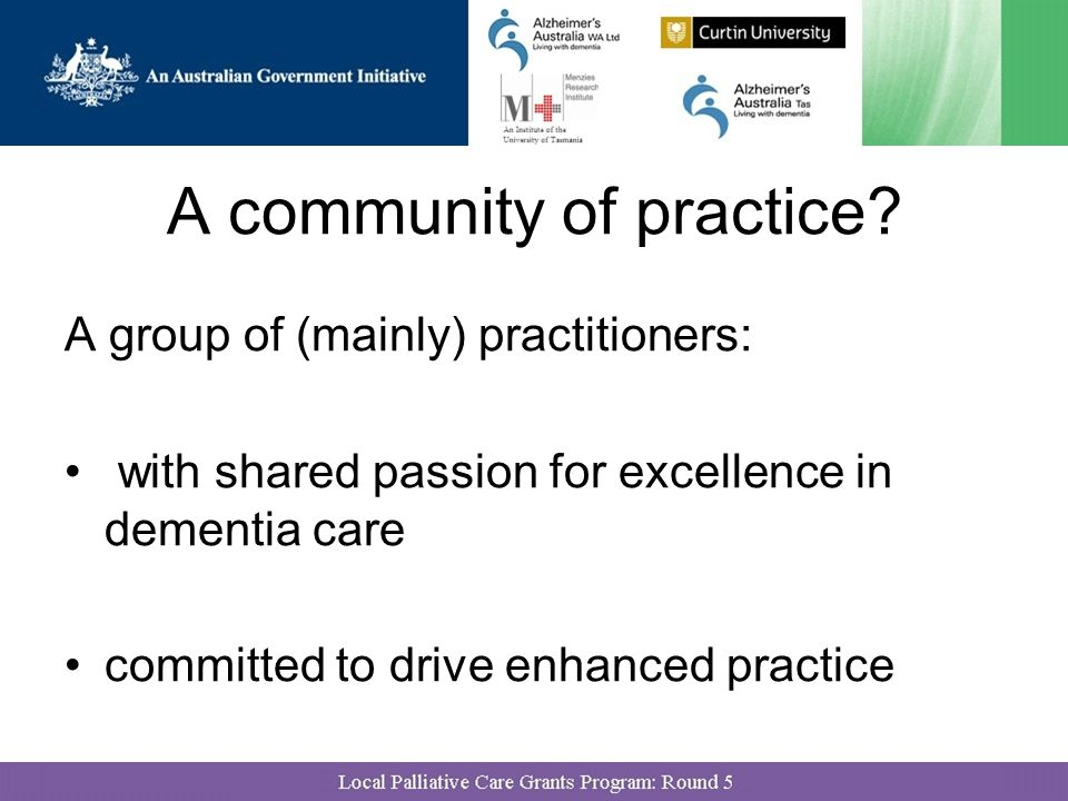 A community of practice.