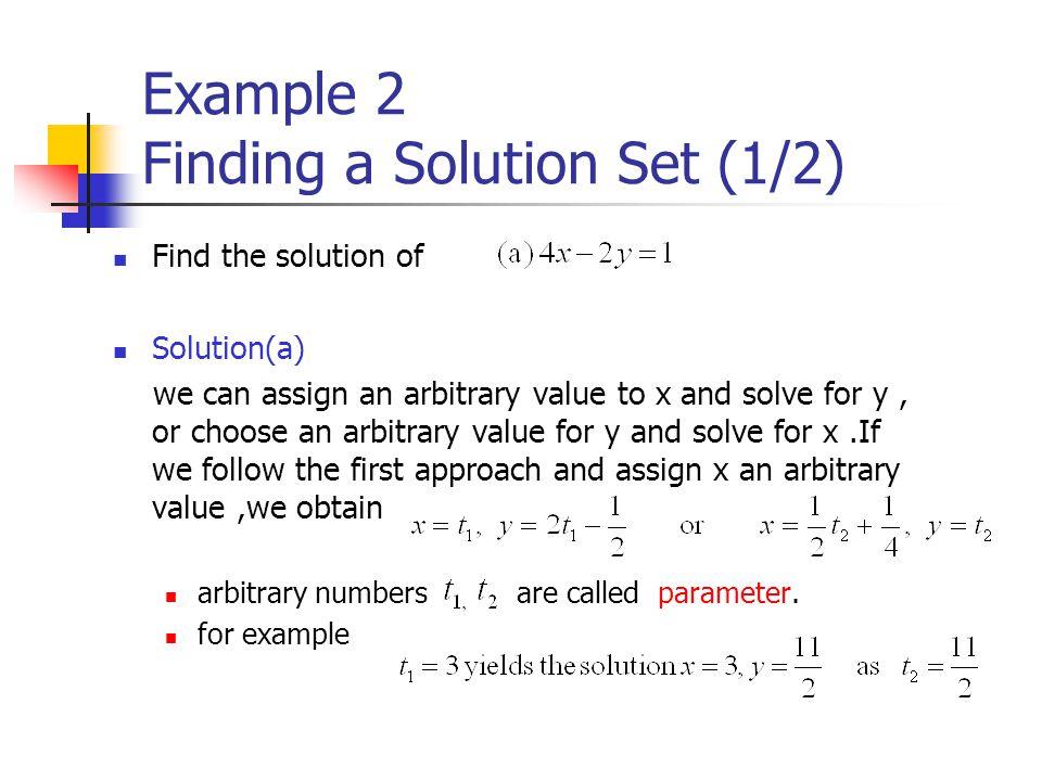 Theorem 1.2.1 A homogeneous system of linear equations with more unknowns than equations has infinitely many solutions.