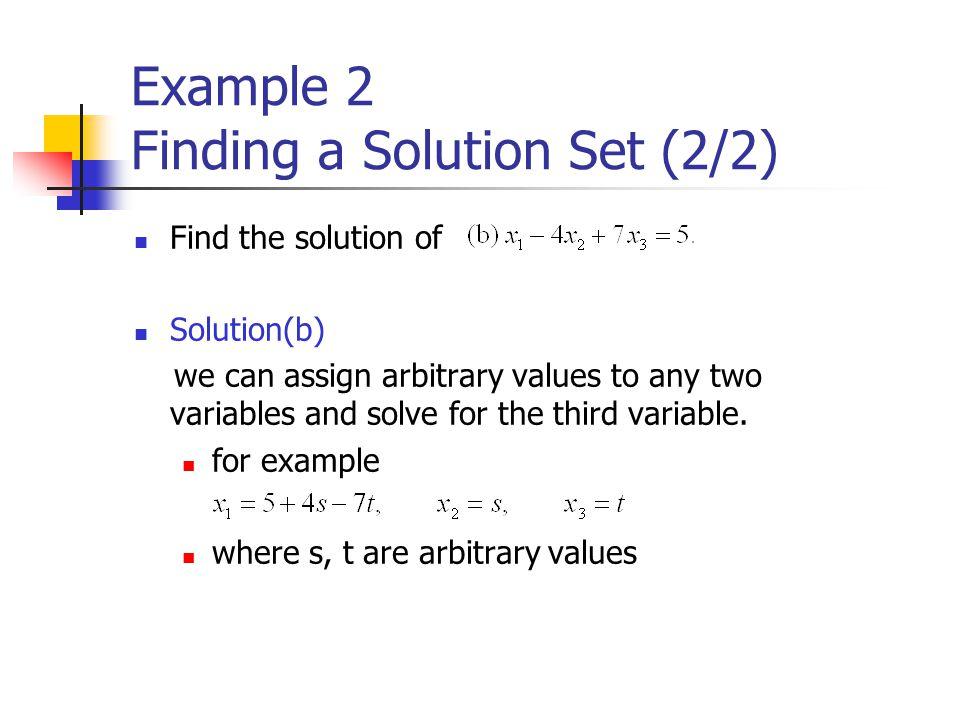 Example 11 Trace of Matrix