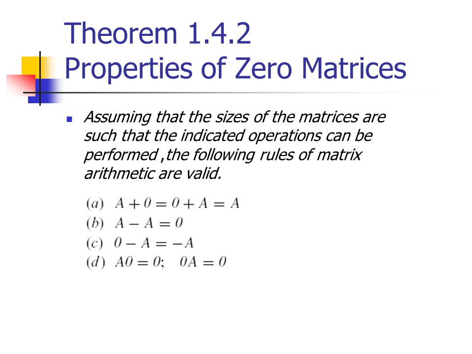 1.5 Elementary Matrices and a Method for Finding A