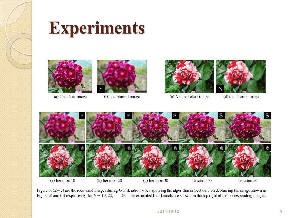 Experiments 10