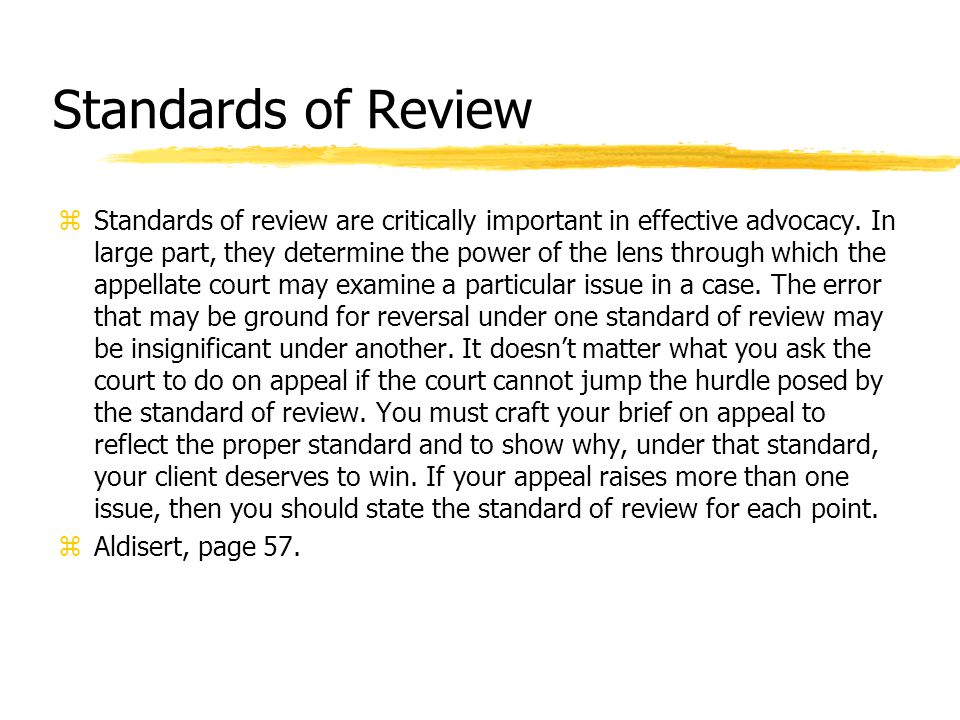 Key Number Searches z Appeal & Error 944 z Appeal & Error yReview xDiscretion of Lower Court Power to Review z Topic Number z 30k944