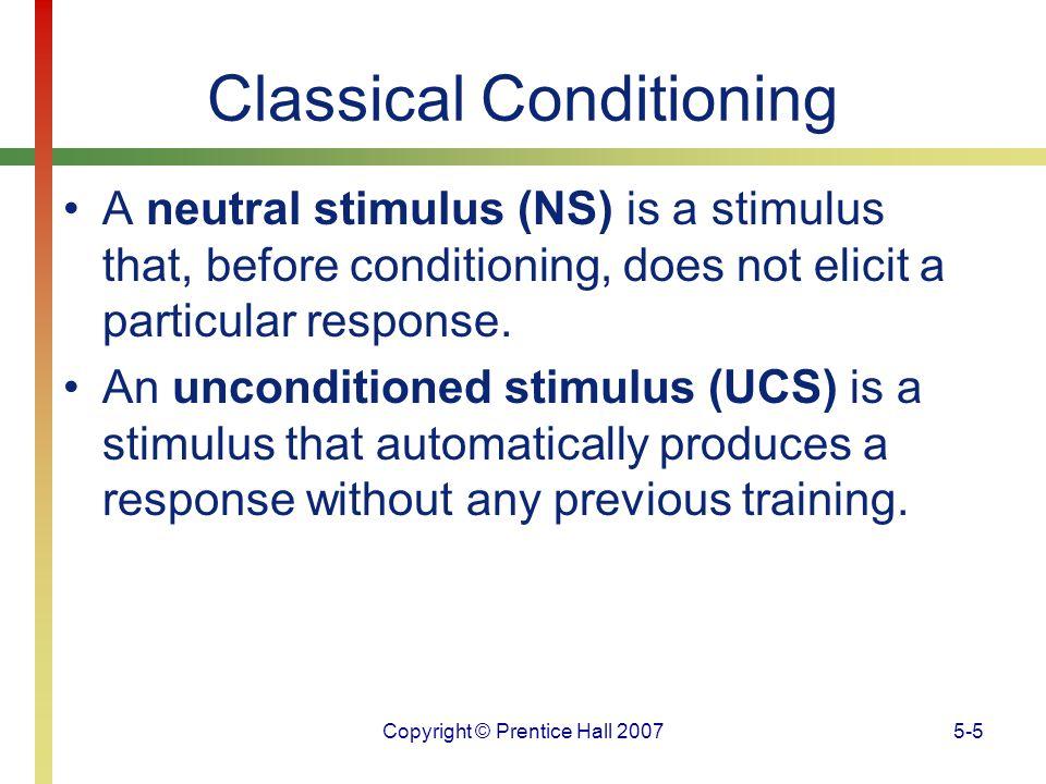 Copyright © Prentice Hall 20075-26 Operant Conditioning