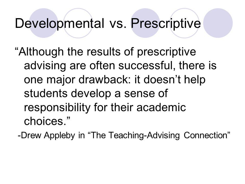 Developmental vs.