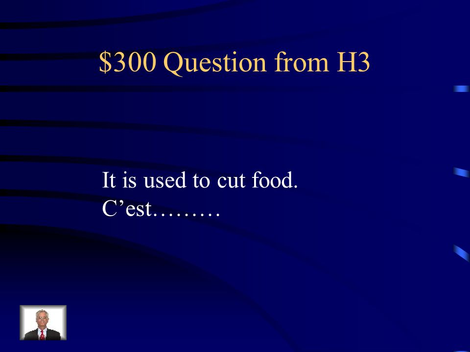 $200 Answer from H3 une assiette