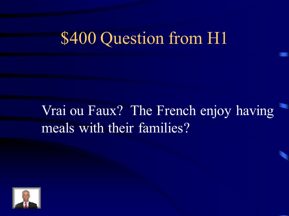 $300 Answer from H1 le goûter