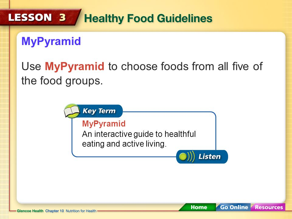 After You Read Reviewing Facts and Vocabulary 3.Provide two examples of nutrient dense foods.