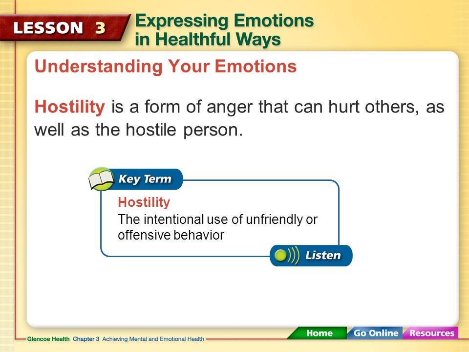 Understanding Your Emotions Common Emotions HappinessSadness Love FearGuilt Anger