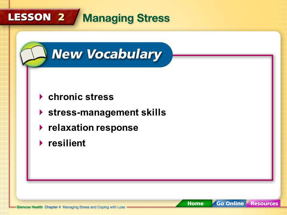 You can manage stress by learning skills to reduce the amount and impact of stress in your life.
