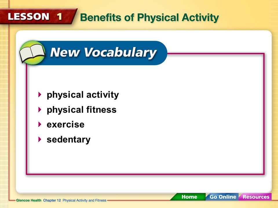 Risks of Being Inactive An inactive lifestyle puts you at risk for a variety of health problems.