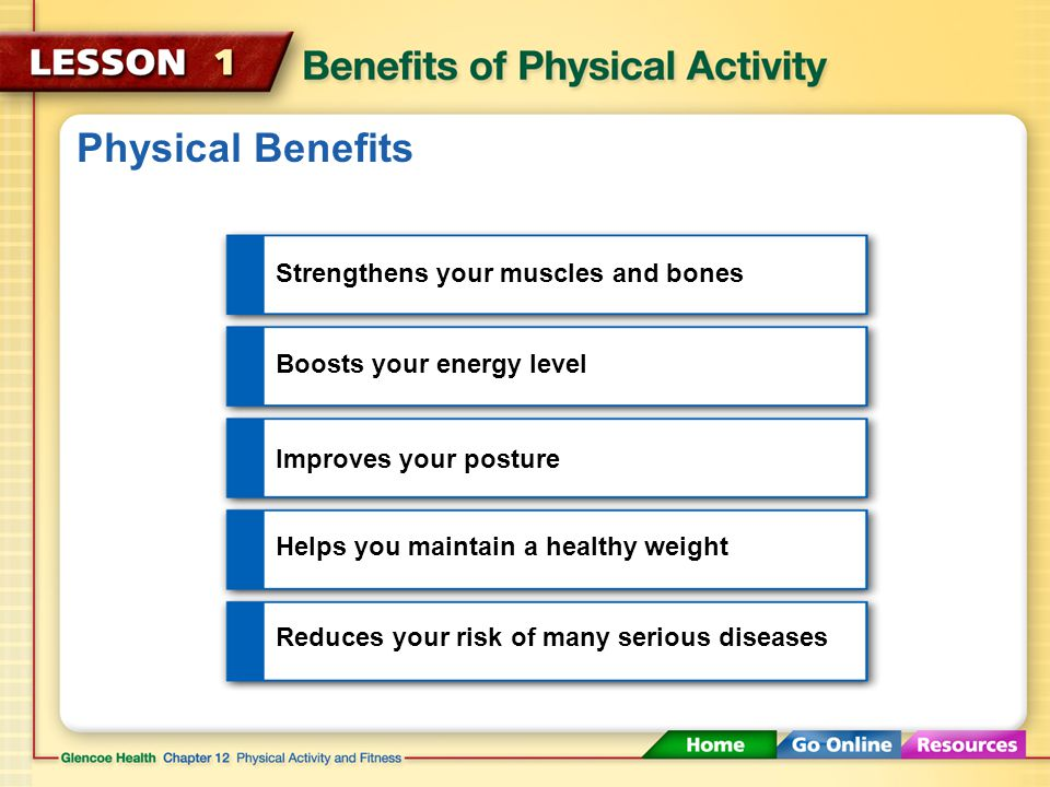 Making Time for Physical Activity By turning off the TV and getting out of the house for a little exercise, you can reduce your risk of health problems.