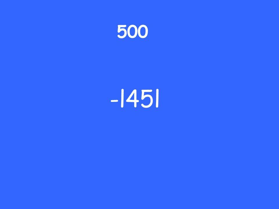 500 -l45l