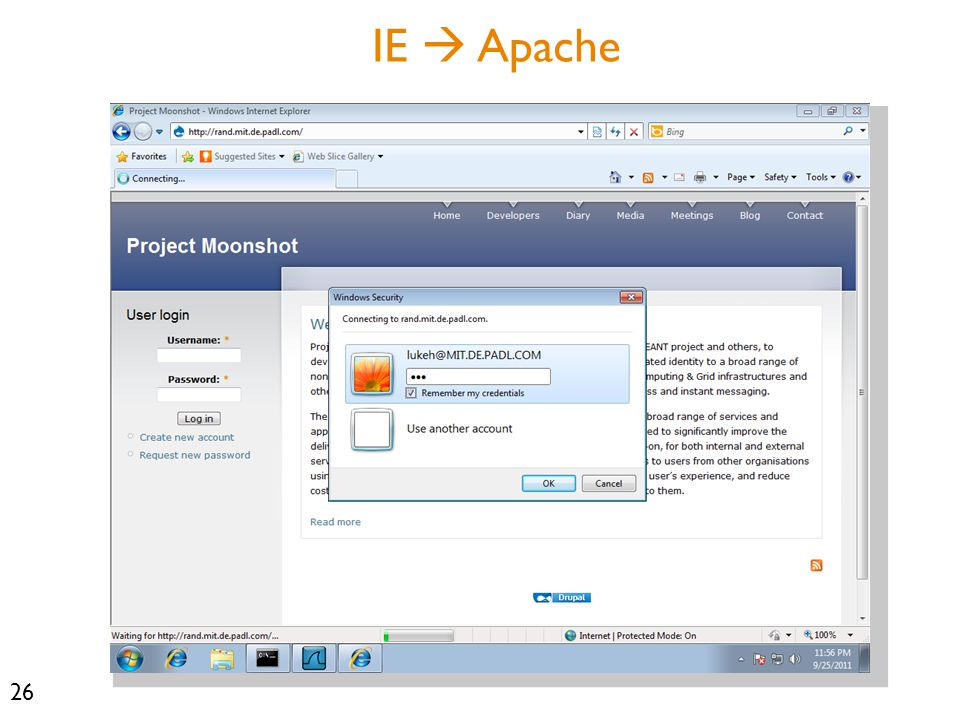 26 IE  Apache