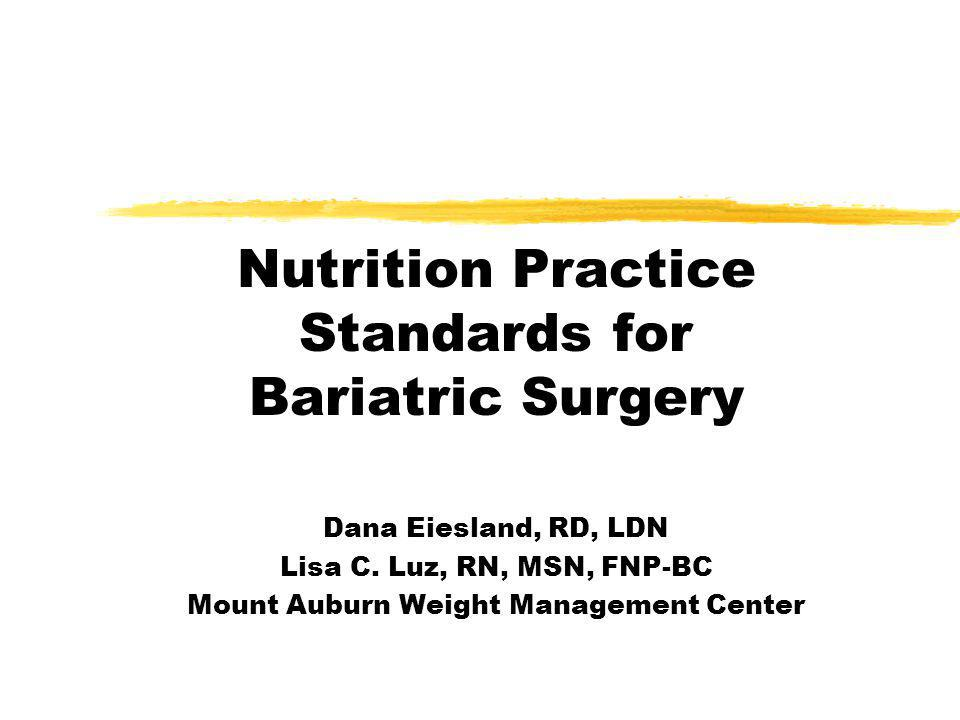 5.Following bariatric surgery it is important to monitor for: yA.