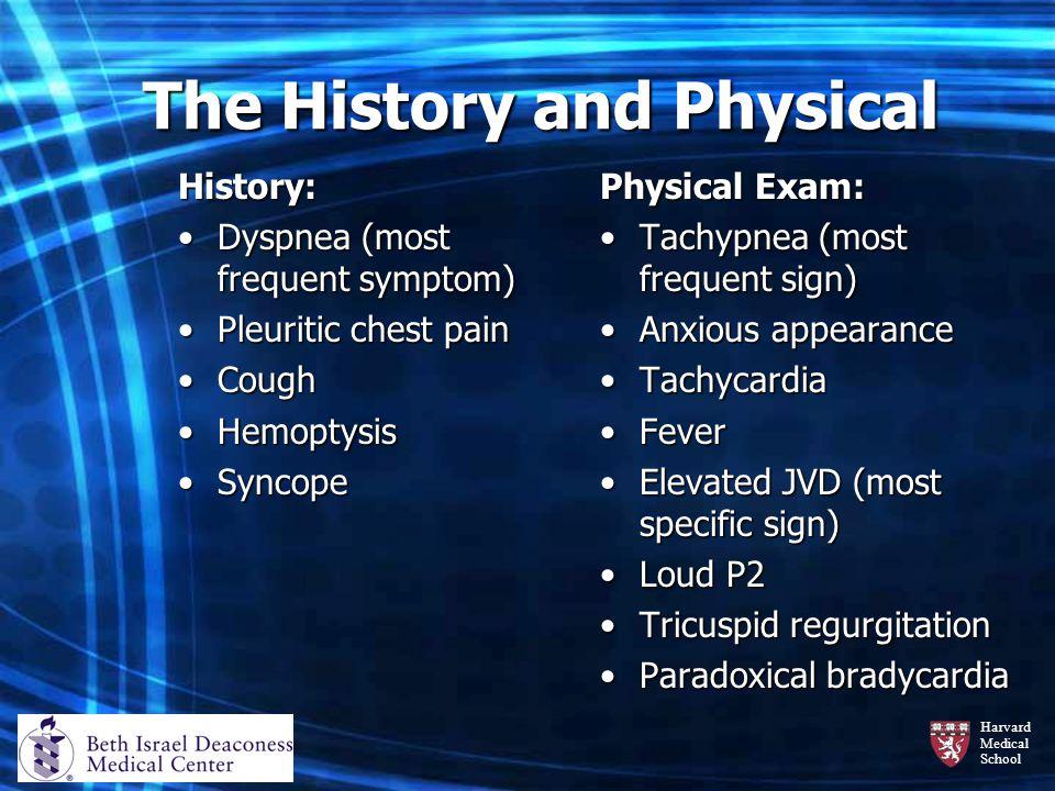 Harvard Medical School Case: Patient No.