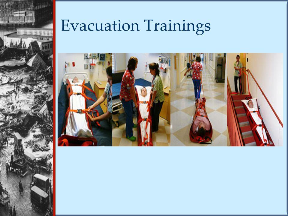 Evacuation Trainings