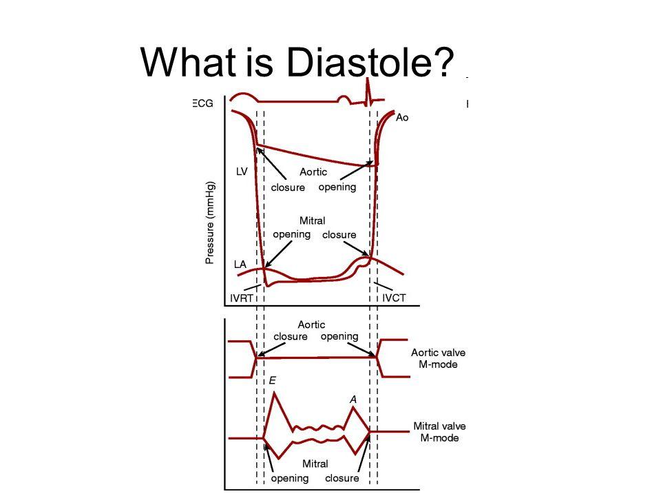 LA Volume Barometer of the chronicity of diastolic dysfunction.