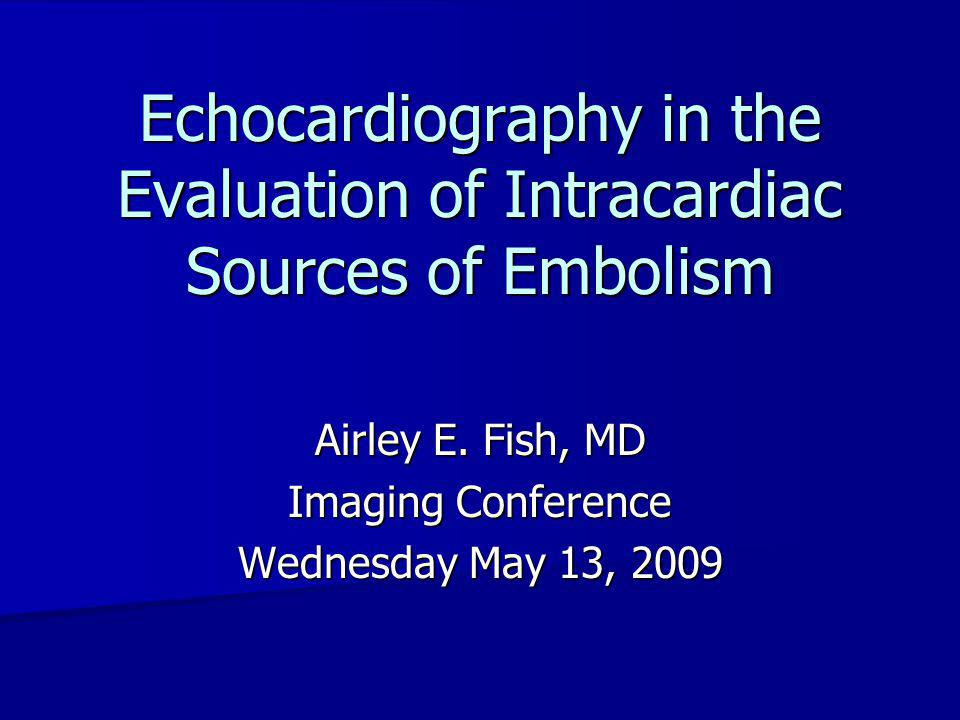 Aortic Atherosclerosis: Cholesterol Emboli TEE descending thoracic aorta TEE descending thoracic aorta Massive atherosclerotic plaque Massive atherosclerotic plaque Images on the right (1A, 2A, 3A) taken 1-2 seconds after their respective pictures on the left Images on the right (1A, 2A, 3A) taken 1-2 seconds after their respective pictures on the left Arrows point to small particles of embolic material moving in Arrows point to small particles of embolic material moving in transit in the aortic lumen transit in the aortic lumen Patient died from Patient died from –Intestinal infarction –Renal failure