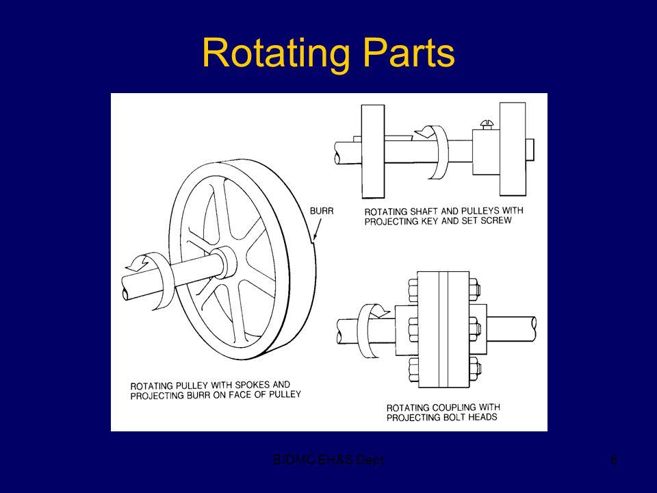 BIDMC EH&S Dept6 Rotating Parts