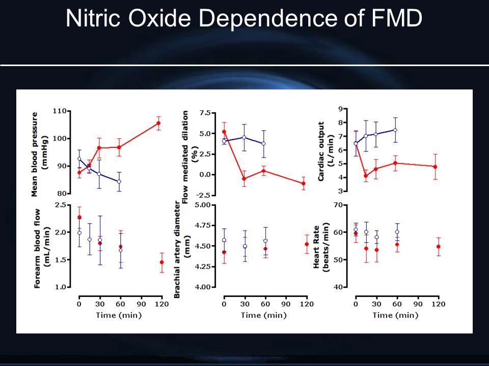 Nitric Oxide Dependence of FMD