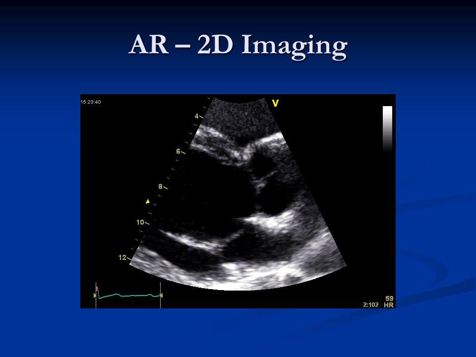 AR – 2D Imaging