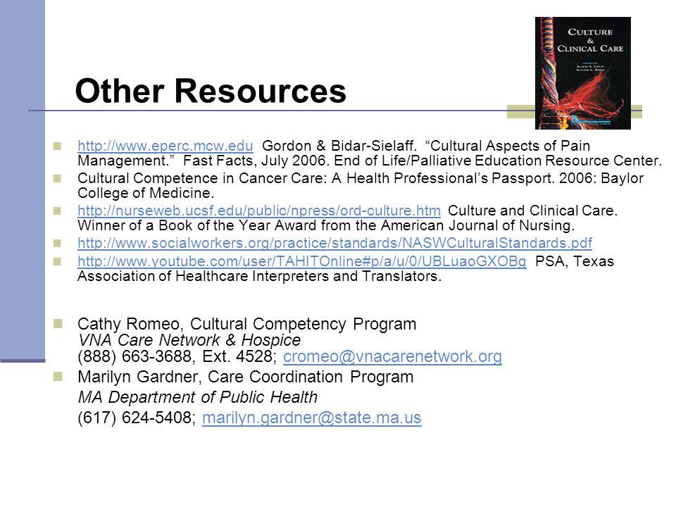 Other Resources http://www.eperc.mcw.edu Gordon & Bidar-Sielaff.