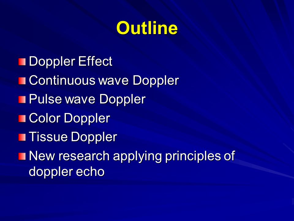 Christian Doppler Austrian mathematician and physicist Published his notable work on the Doppler Effect at the age of 39 To explain the color of binary stars.
