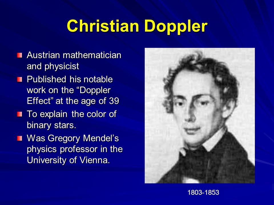 Doppler Effect Observed frequency of a wave depends on the relative speed of the source and observer The pitch of sound was affected by motion toward or away from the listener Sound moves toward the listener, frequency increases, pitch rises.