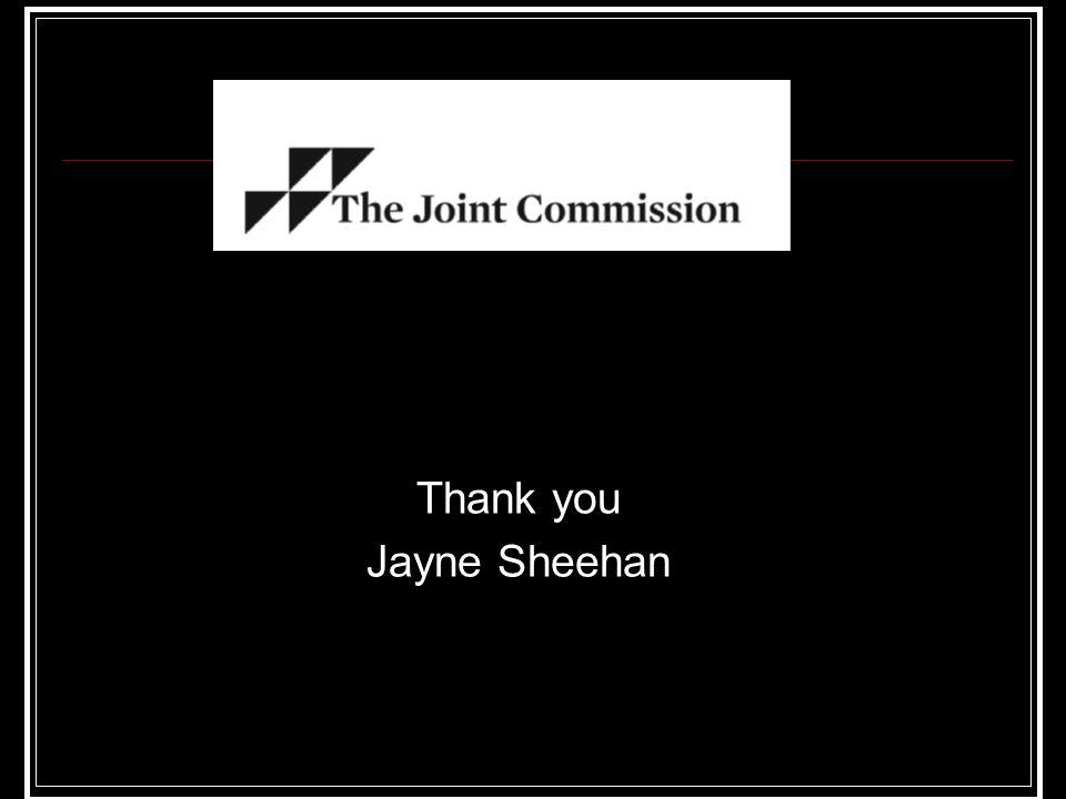 Thank you Jayne Sheehan