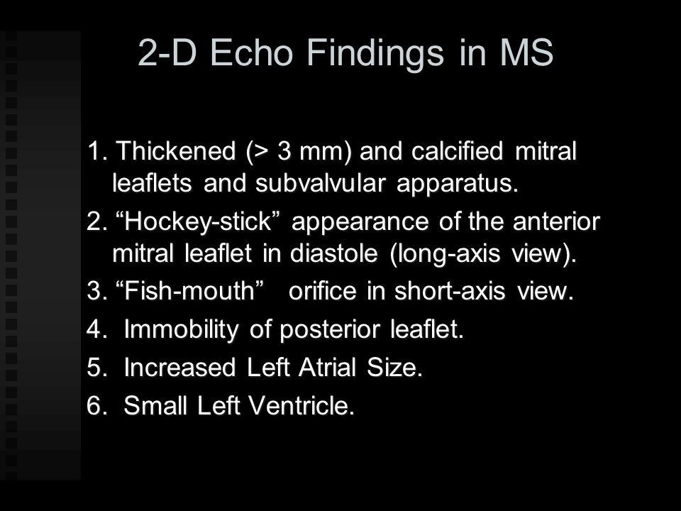 Diastolic Anterior Motion of Posterior Leaflet