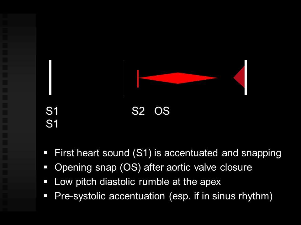 Normal4 - 6 cm 2 Mild stenosis1.6 - 2.5 cm 2 Mod (usu Asx at rest)1.1 - 1.5 cm 2 Severe≤ 1.0 cm 2 MV Orifice Area