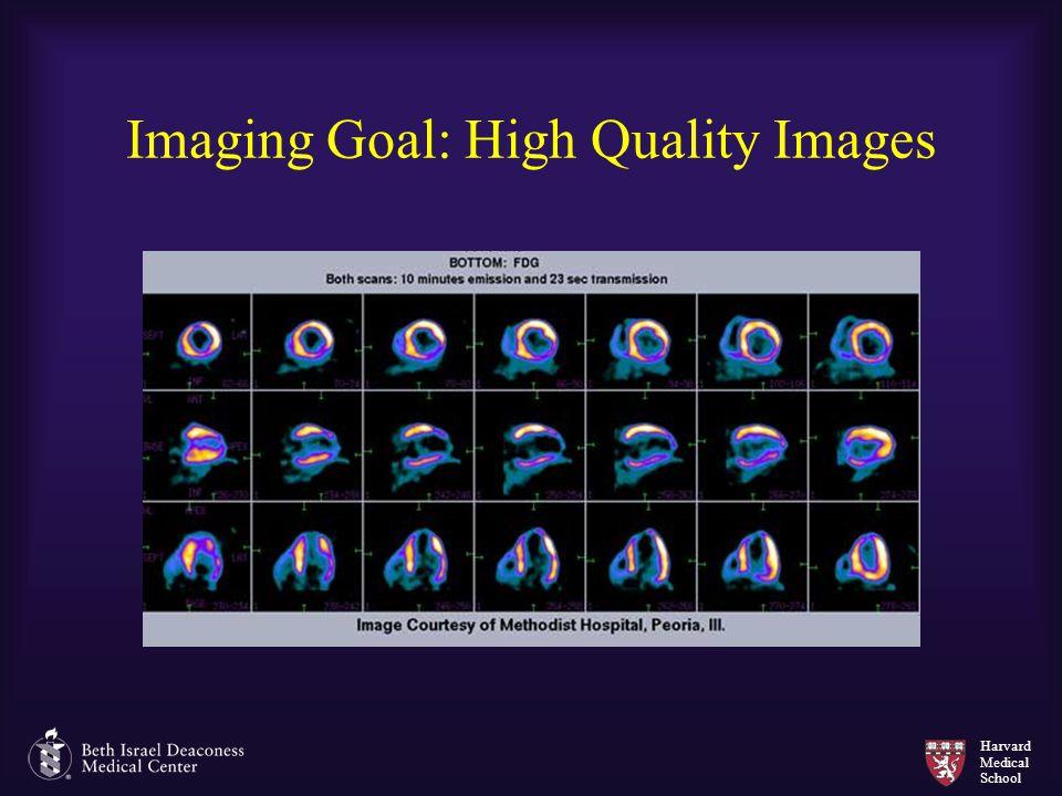 Harvard Medical School Imaging Goal: High Quality Images