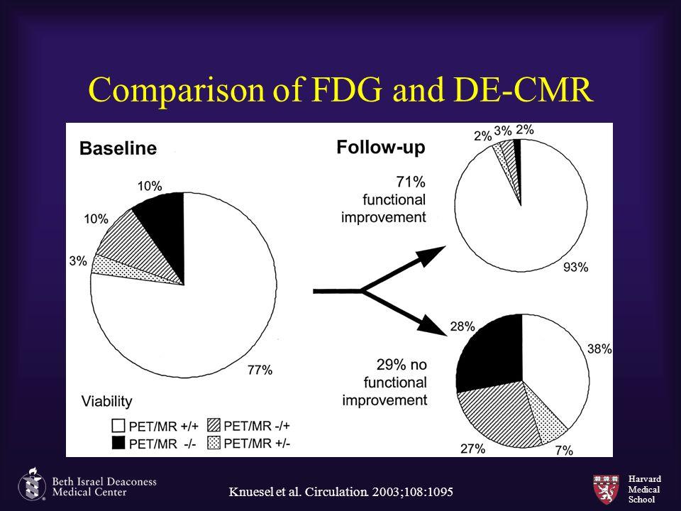 Harvard Medical School Comparison of FDG and DE-CMR Knuesel et al. Circulation. 2003;108:1095