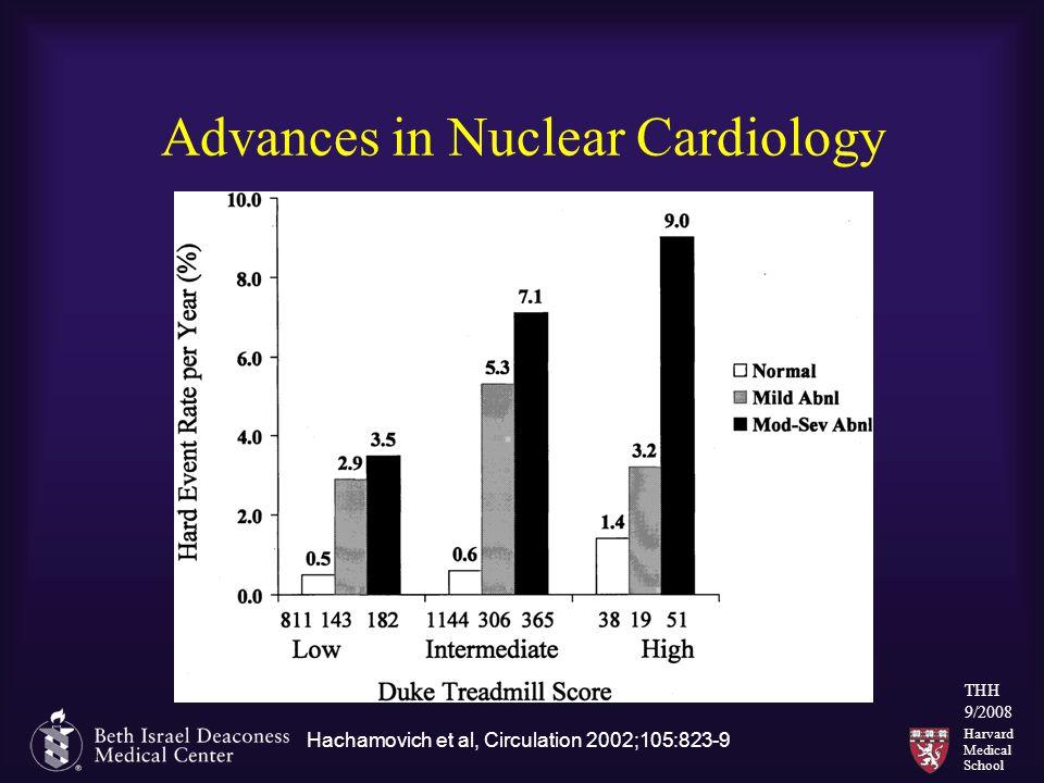 Harvard Medical School THH 9/2008 Advances in Nuclear Cardiology Hachamovich et al, Circulation 2002;105:823-9