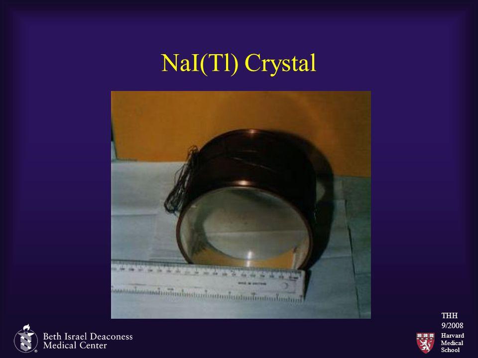 Harvard Medical School THH 9/2008 NaI(Tl) Crystal