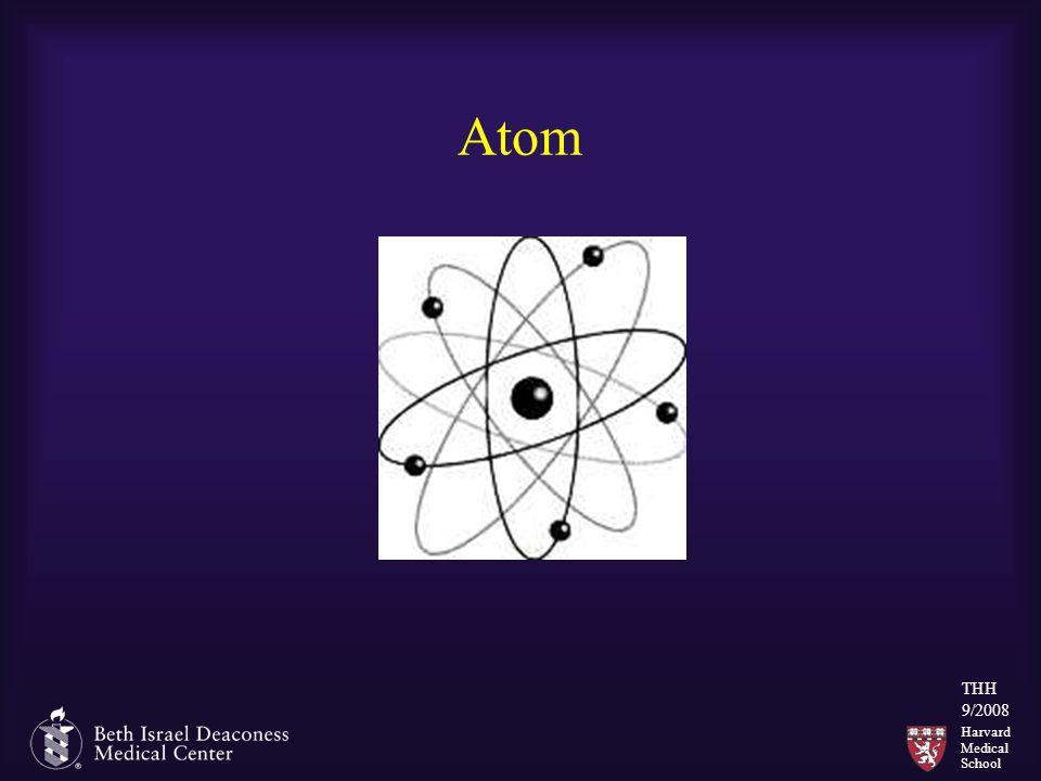 Harvard Medical School THH 9/2008 Atom