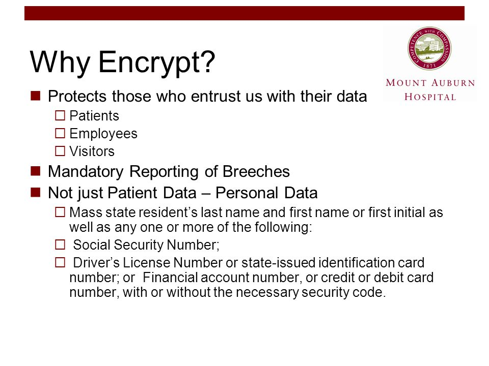 Why Encrypt.