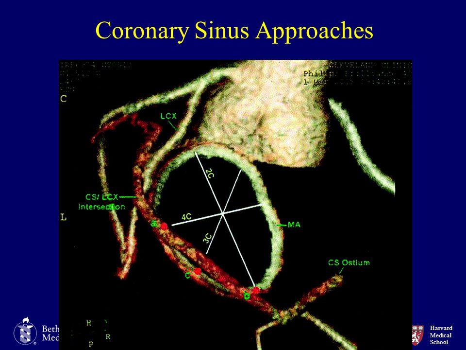 Harvard Medical School Coronary Sinus Approaches
