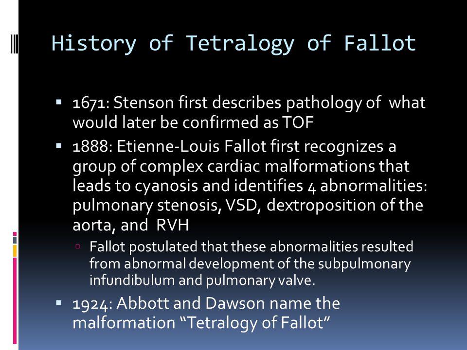 History  From Wikipedia:  E.L. A. Fallot.