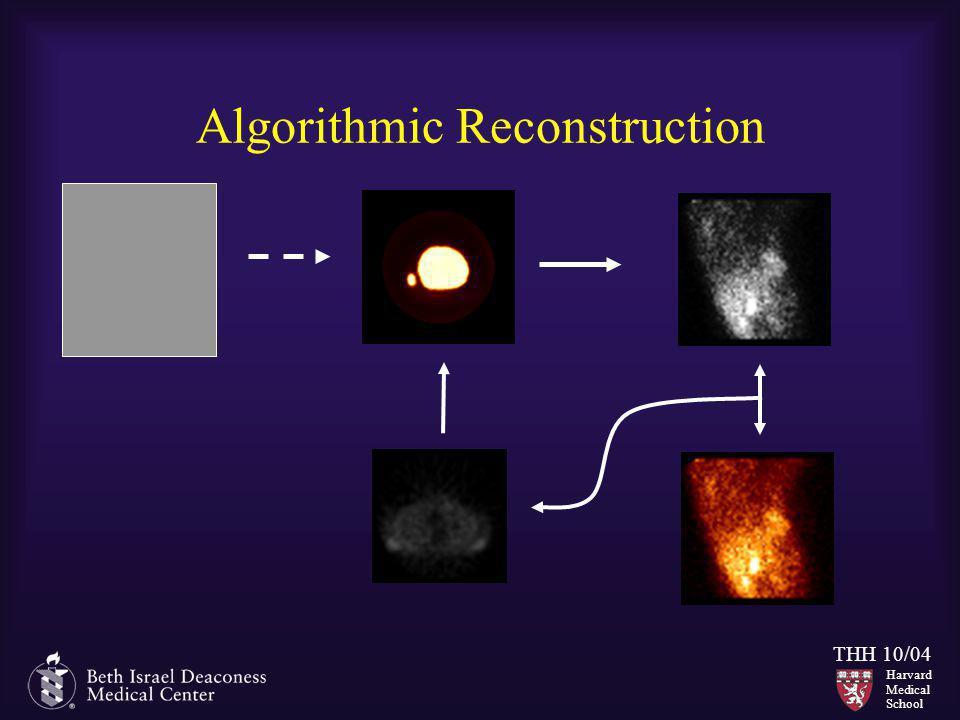 Harvard Medical School THH 10/04 Algorithmic Reconstruction
