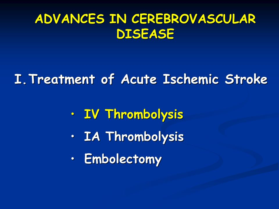 Acute assessment of patient with ischemic stroke TIME IS BRAIN.