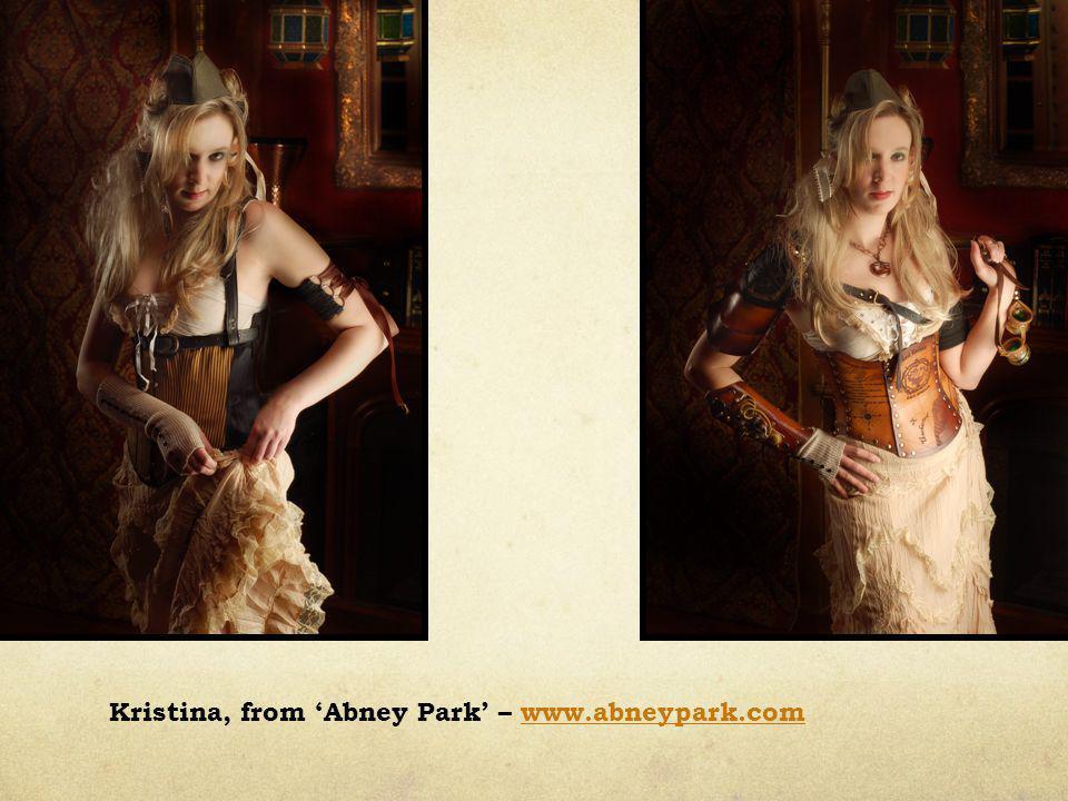 Kristina, from 'Abney Park' – www.abneypark.comwww.abneypark.com