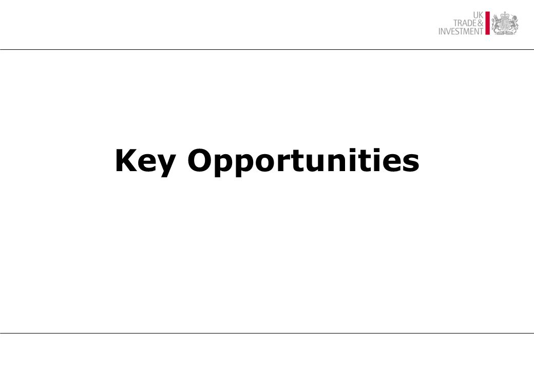 Key Opportunities