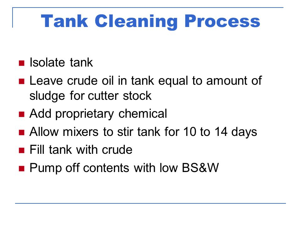 Tank shell and rivets post chemical cleaning Some tanks require virtually no additional cleaning after our process is complete.
