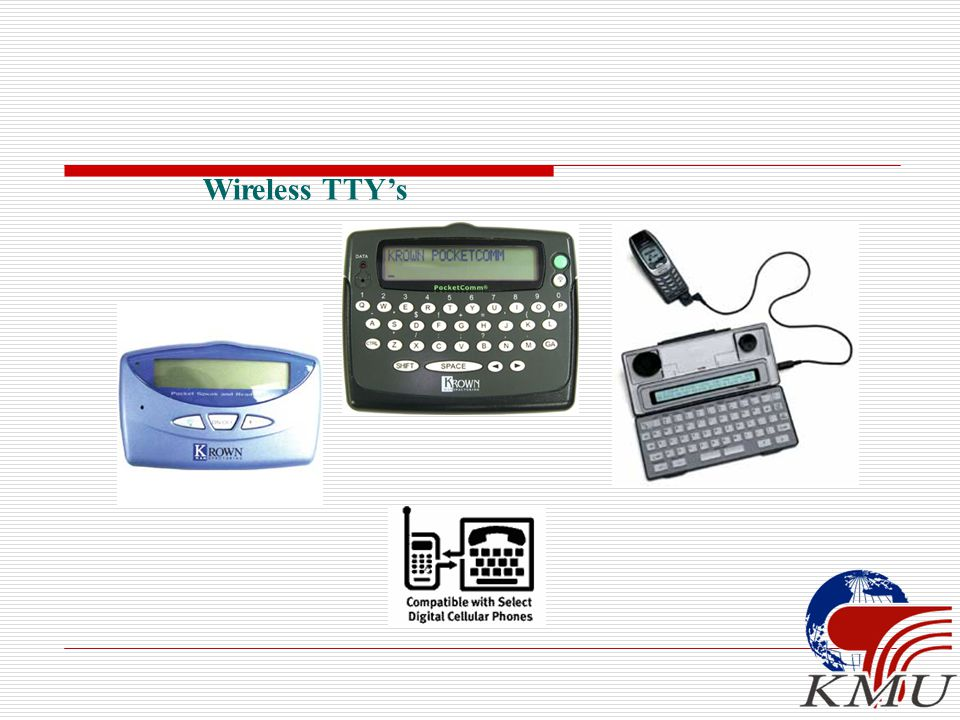 Wireless TTY's