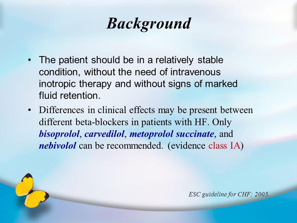 總 結 Cardioselective-nonISA beta-blocker agent (Atenolol, Bisoprolol, Metoprolol, Practolol) for reversible airway disease Total reversible airway d's p't FEV1 Sub: COPD FEV1 Sub: CVD FEV1 P't symptom 併 beta- agonist FEV1 Single dose (v.s placebo) ↓ ↓ WMD –9.14 [-11.31, -6.97] P< 0.00001 ↓ ↓ WMD –5.28 [-10.03, -0.54] P=0.03 ↓ ↓ WMD –6.83 [-11.46, -2.20] P=0.004 No significant RD 0.00 [-0.03, 0.03]; p= 1 ↑ ↑ WMD 6.59 [4.18, 9.01] P< 0.00001 Longer duration (v.s placebo) No significant WMD –3.22 [7.79, 1.36]; p= 0.2 No significant WMD –6.20 [-16.37, 3.97]; p= 0.2 No significant WMD –1.40 [-8.10, 5.31]; p= 0.7 No significant RD 0.01 [-0.02, 0.04]; p=0.5 ↑ ↑ WMD 12.0 [4.12, 19.87] P< 0.003 RD: Risk difference WMD: Weighted Mean Difference
