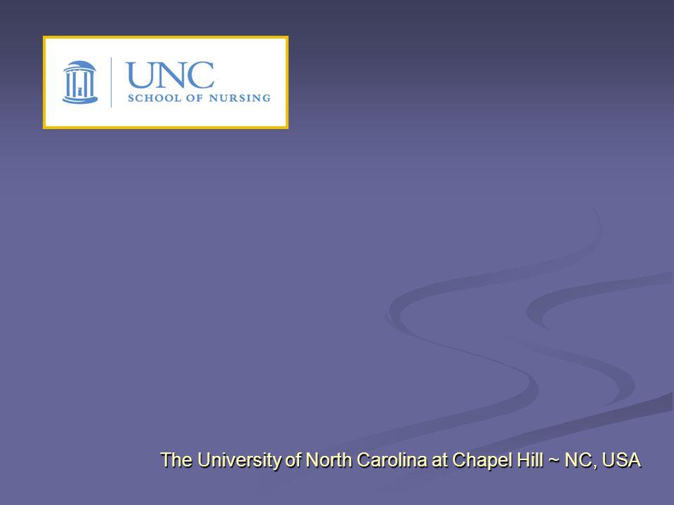 The University of North Carolina at Chapel Hill ~ NC, USA